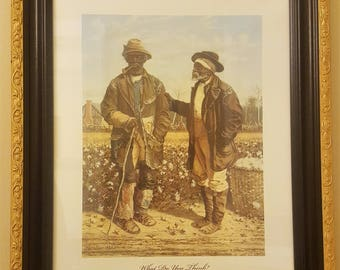 What Do You Think?  Print by William Aiken Walker