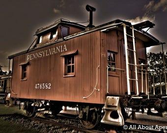 Train Car Photography