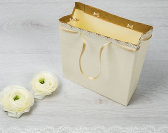 "Wedding Bag-Line ""White Lace"""