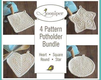 Crochet Potholder Bundle Patterns