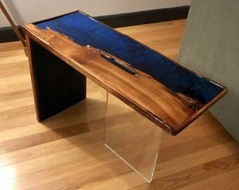 Waterfall side table