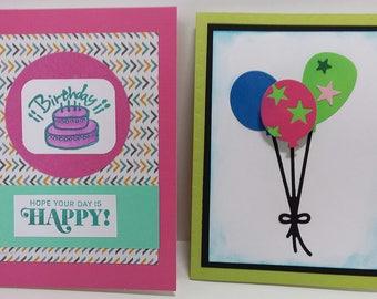001-2e Birthday cards handmade