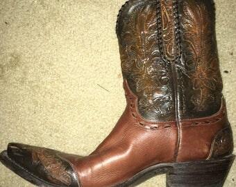 Authentic Stallion Women's Cowboy Boots