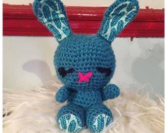 Cute Amigurumi crochet bunny