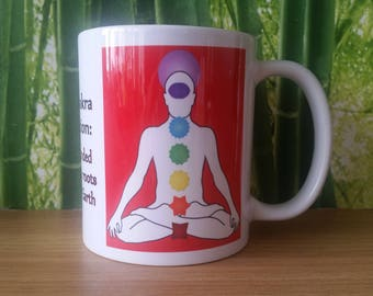 Root Chakra Balancing Mug
