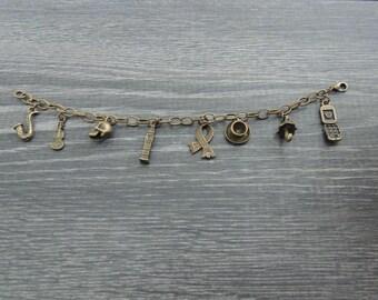Sherlock Charm Bracelet