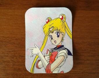 Sailor Moon sketch card