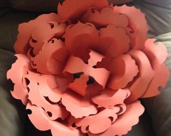 Small-Jumbo Paper Wall Flower