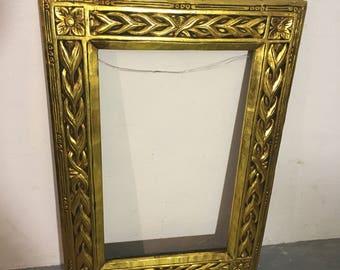 Gold frame picture antique picture frame golden antique frame