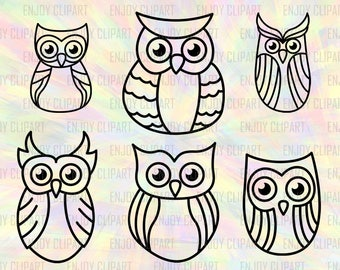 Owl Svg File, Owl Silhouette, Owl Clipart, Owl Decal For Yeti, Owl Monogram Svg, Cutting Dies, Vinyl Cut Files, Digital Cutting File, Png