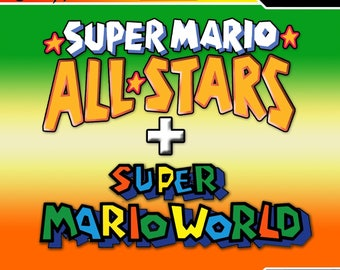 super mario allstars super mario world reproduction