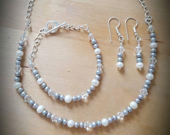 Bridal Fresh Water Pearl Set