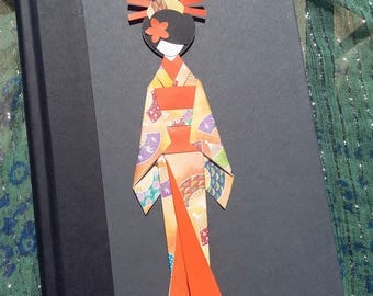 Japanese Doll Bookmark