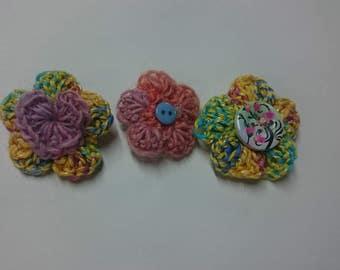 Small flower Badge