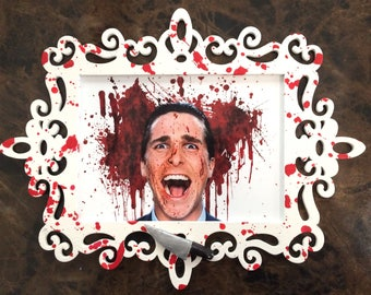 American Psycho Framed Picture