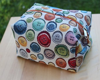 Clutches-fabric bag gobelin _ Jim button