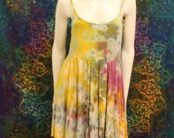 Hippie Goa ethno Festival alternative Yoga batik dress