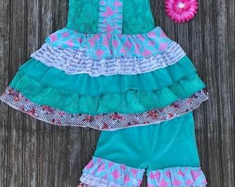 Mint Floral Spring OTD