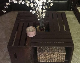 Rustic Crate Table