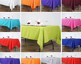6 Tablecloths
