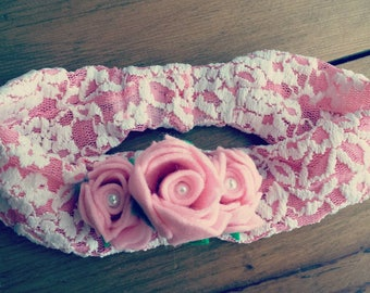 Rose Crown Headband