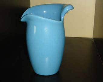 Eva Zeisel,Town & Country for Red Wing Pottery, Dusk Blue Syrup Pitcher
