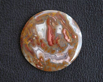 Quality Tee Pee Canyon Agate Cabochon C81