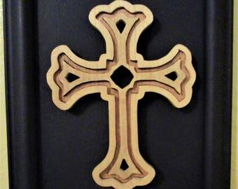 Small framed cross