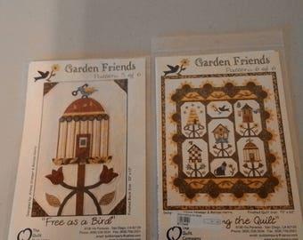 Garden Friends pattern