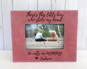 mother's Day gift. Mother's Day frame. Gift for mommy. Mom and son frame. Personalized picture frame