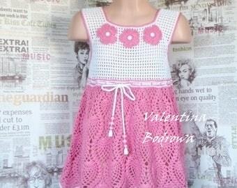 Crochet little girls dress, knit dress baby, little girl dresses, crochet child dress, dress for little girls, crochet baby dress, dress