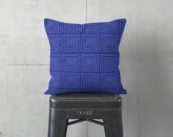 Blue Pillow - Modern Farmhouse - Blue Cushion Cover - Throw Pillow Cover - Decorative Pillows - Textured Pillows - Accent Pillow
