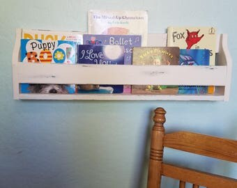 Set of 3 wallmounted shelves! 27X9X4 wall mounted kids shelves, shelf, wall shelves, available in any color!