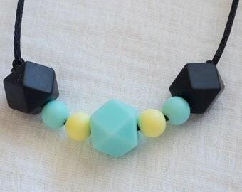 Spring sunshine silicone teething necklace