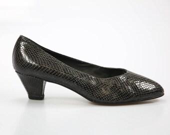 80s Semler vintage pumps shoes size. EUR: 42 UK 8 US 10