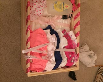 Baby Shower Crates