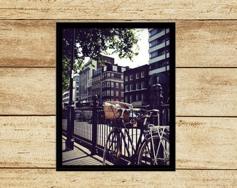 Bike in London Photograph Digital Download