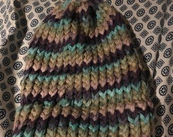 Toddler Hat - Color Swirls