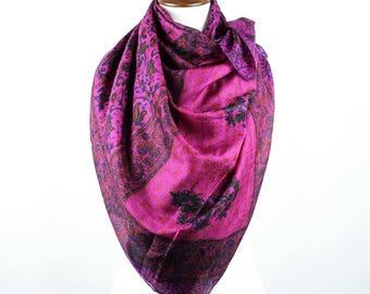 Women's Silk Scarf - 100% silk