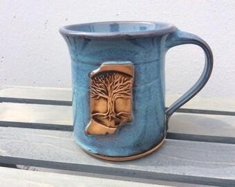 Indiana tree mug.