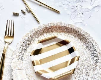 gold party paper plates party plates gold party plates party paper plates