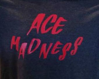 Custom Live Ace Fit Shirt - Black Heather Color