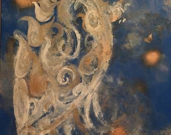 Wings of divinity paintings