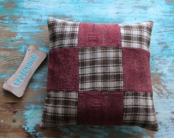 Pink pillow, decorative pillow case, kilim pillow, cozy pillow, turkish pillow