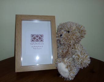 Oak Effect Chunky Photo Picture Frame 6 x 4