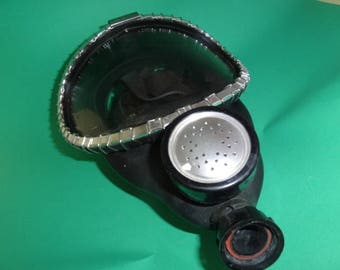 Vintage MSA Respirator Full Face Air Mask, All Service Gas Mask, Breathing Apparatus USA