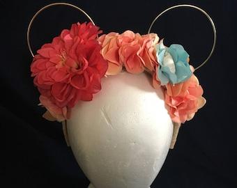 Where the Sky Meets the Sea Floral Headband