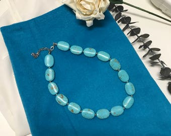 Turquoise Earth Necklace