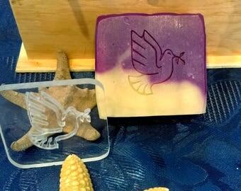 "Stamp SOAP ""Dove"" (buffer, print)"