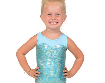 Elsa Frozen Inspired Leotard Ready to Ship FREE USA SHIPPING